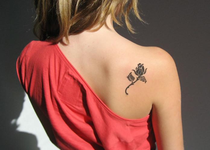 before getting a tattoo