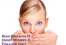 Ways to avoid bad breath