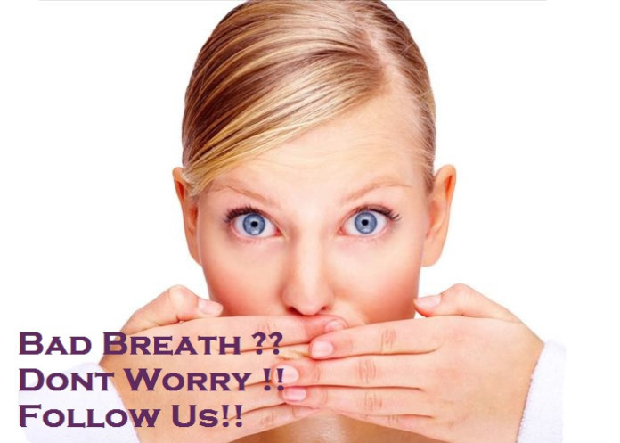 Ways to avoid bad breath