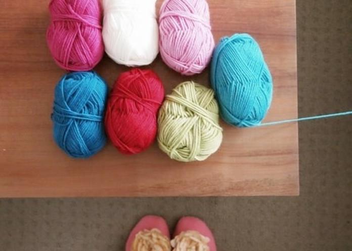Knit, sew, crochet