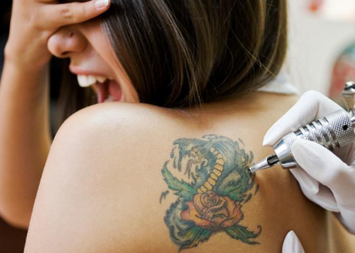 Tattoos hurt