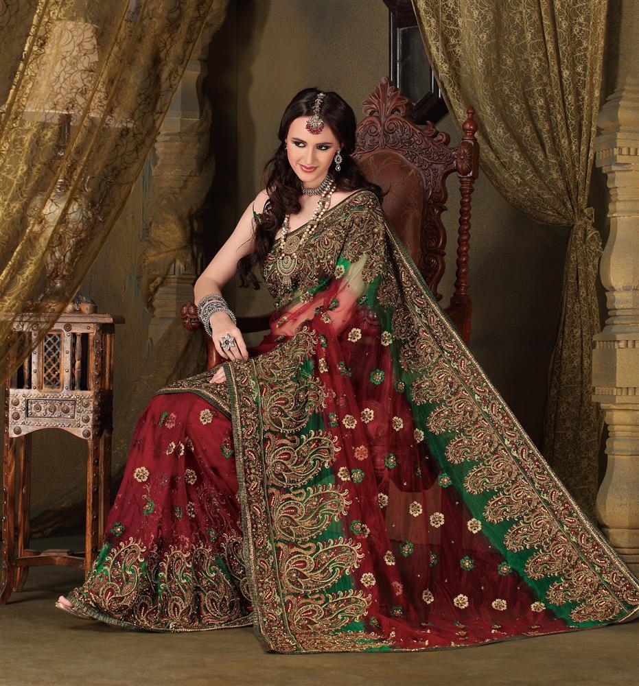 North Indian Wedding Saree: 10 Kinds Of Indian Bridal Sarees