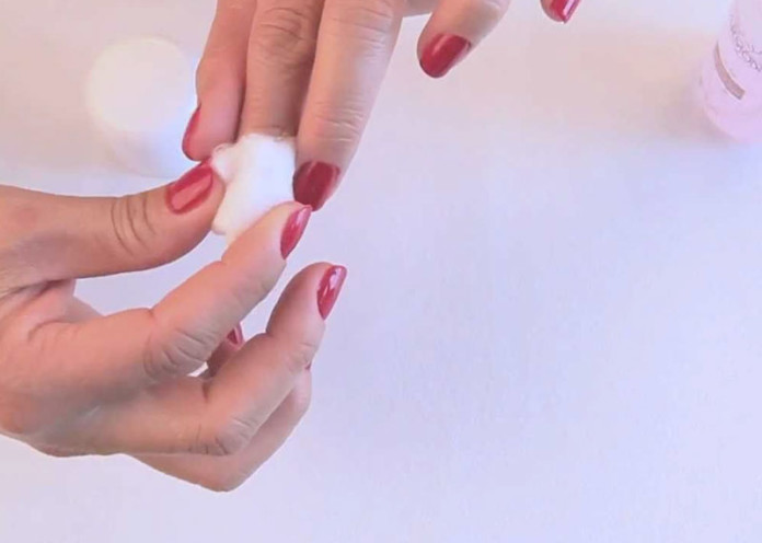 Remove your old nail polish