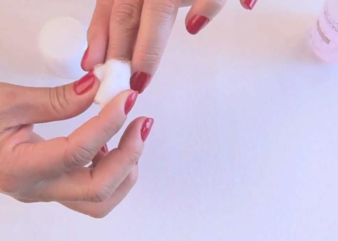 Remove your old nail polish