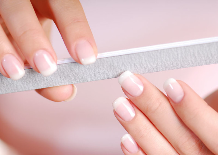 Cut and file your nails
