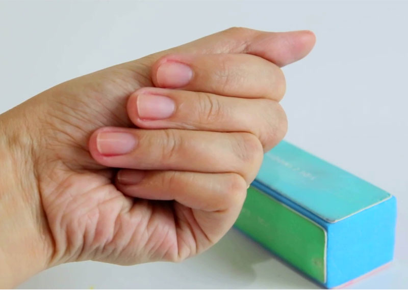 Buff your nails