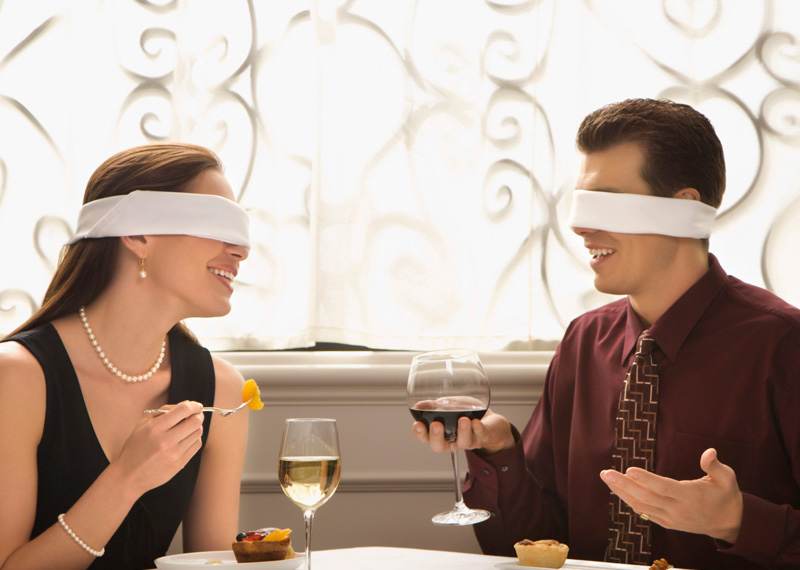 love dating blind date