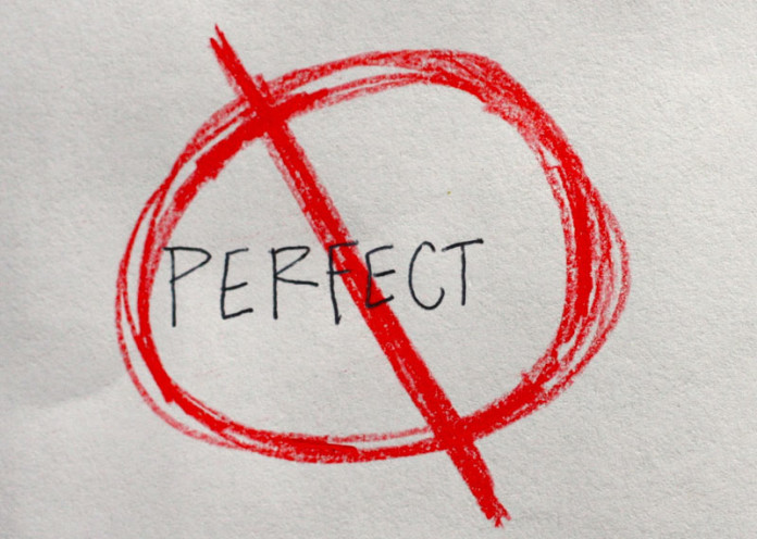 Don't try to be perfect