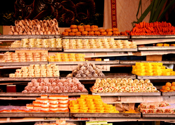 Sweets now cost a bomb