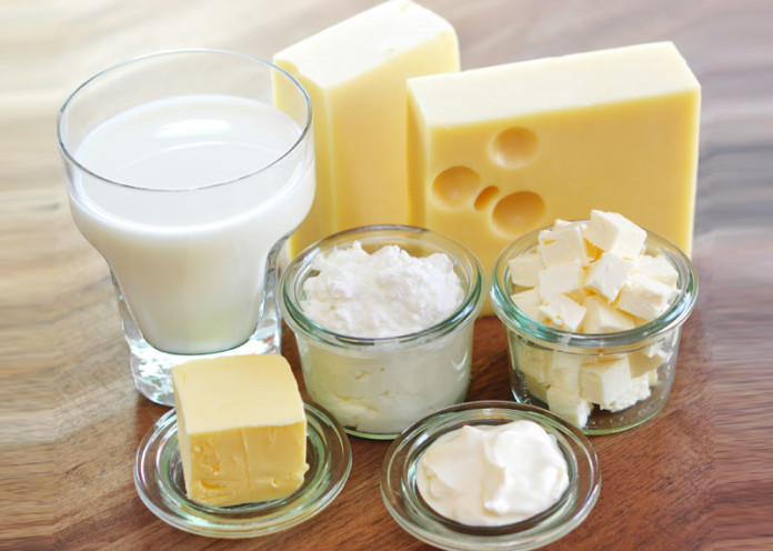 High Fat dairy items