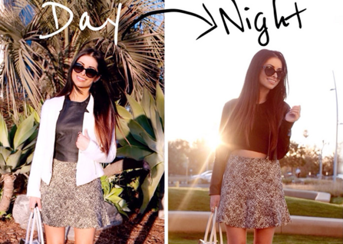 day to night outfit