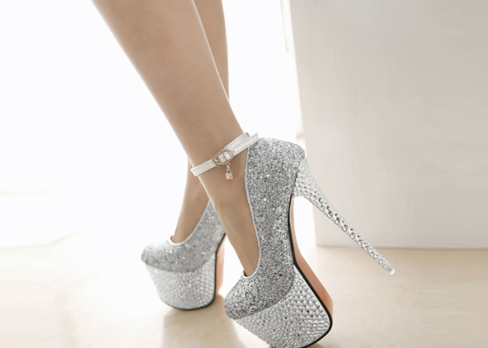 Switch from comfy flats to party shoes