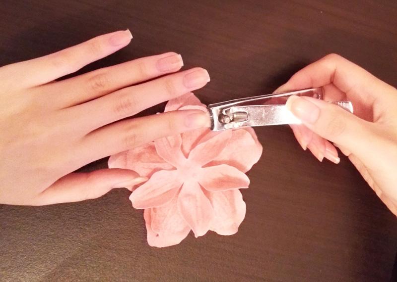 Sharing nail cutters