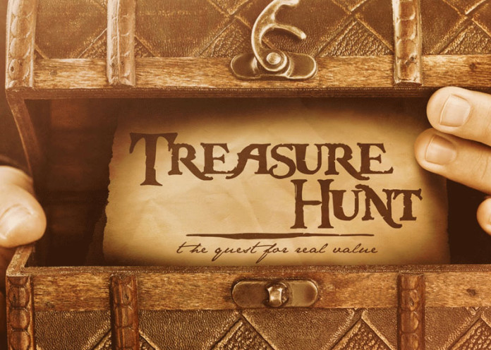Treasure hunt always works