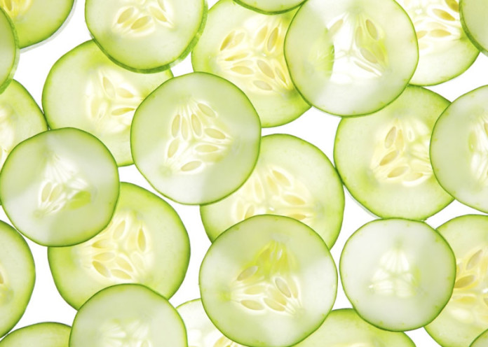 Tips with cucumber