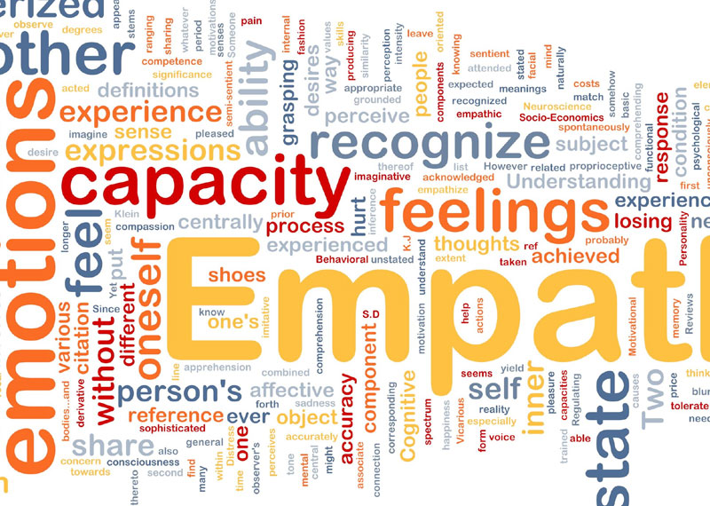 Show empathy
