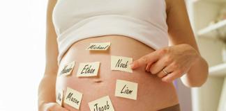 choosing baby's names
