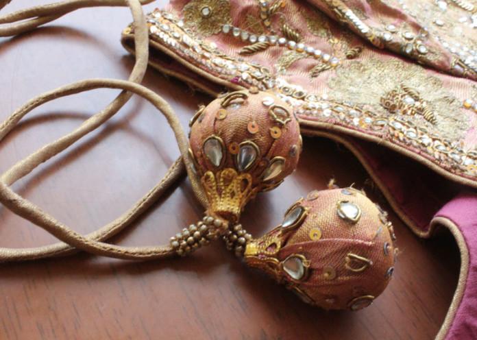 Zari Vine blouse design