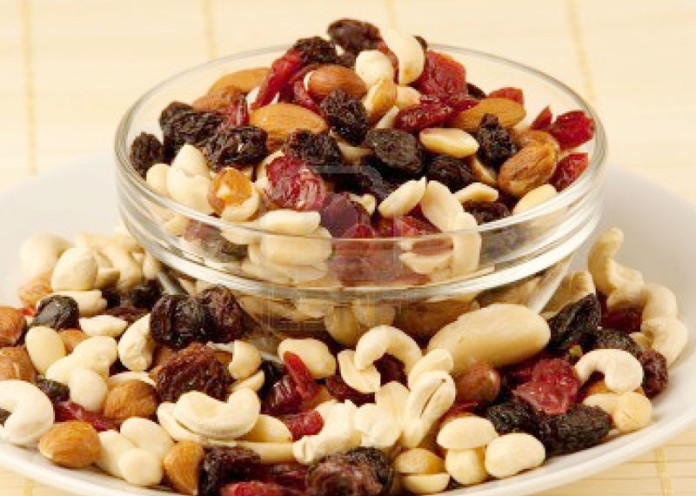 Overeating nuts and fruits