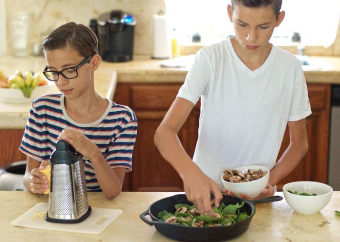 Let your teen cook a meal