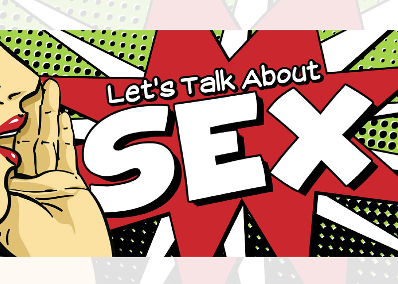 If the sex gets boring, say it