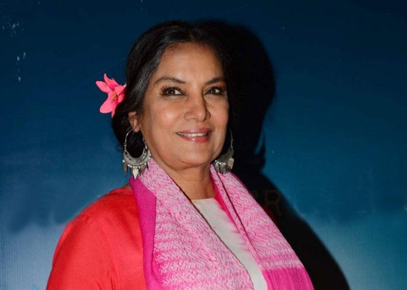 Shabana Azmi is a latest entry