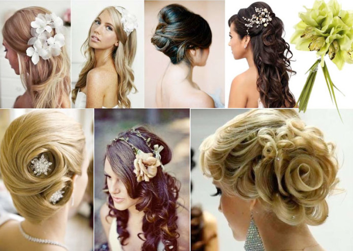5 Types Of Wedding Hairstyles