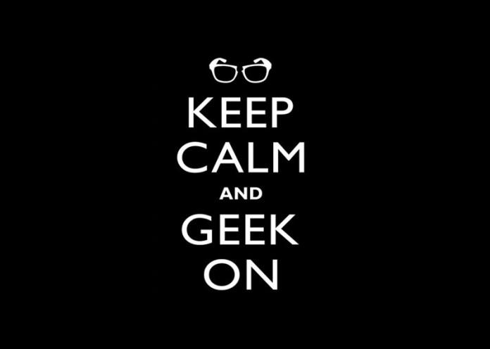 He is a geek