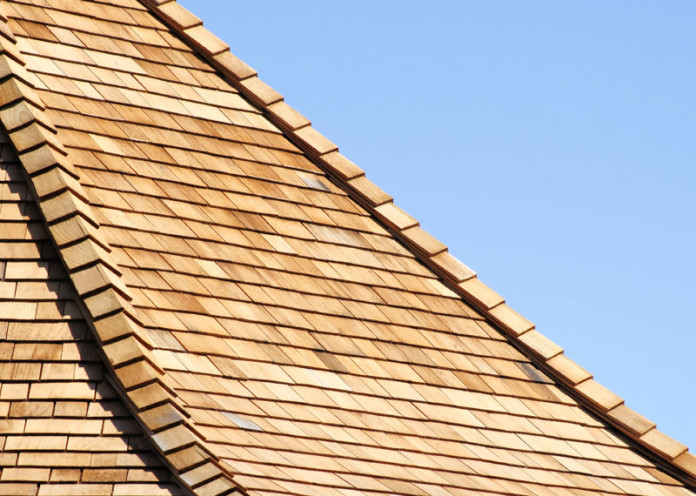 Wooden roof is safer