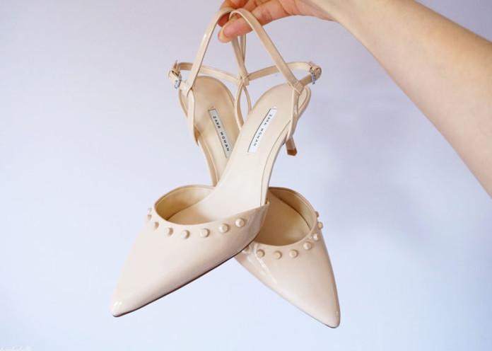 Subtle colored heels