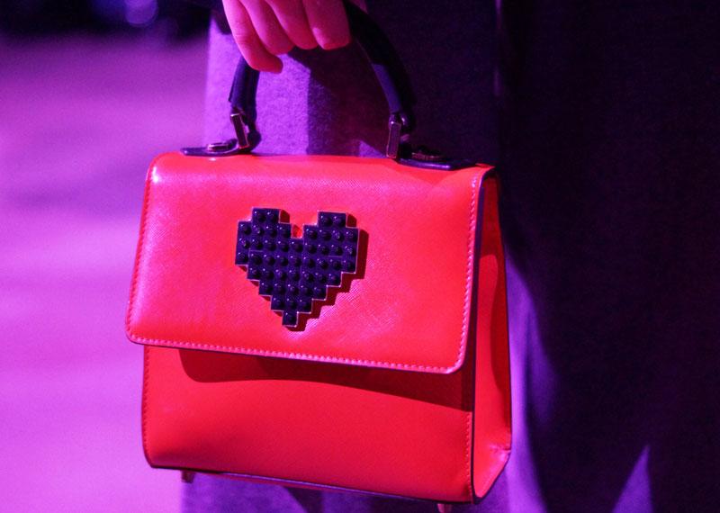 Bright colored bag