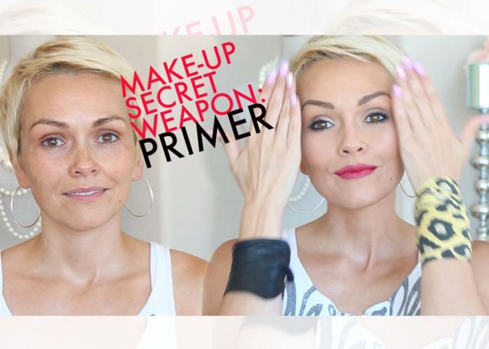 Use a primer make up