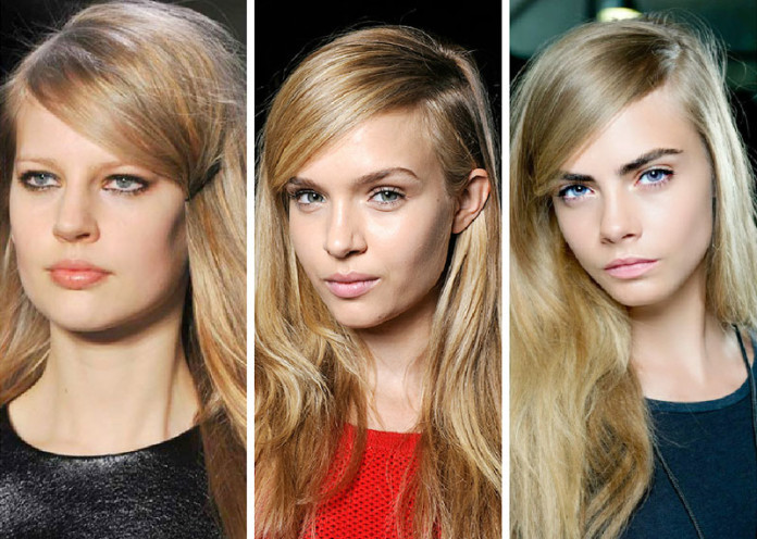 Part your hair differently