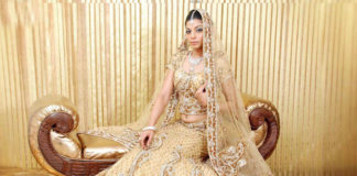 Bollywood style wedding lehengas