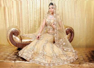 Bollywood style wedding lehengas