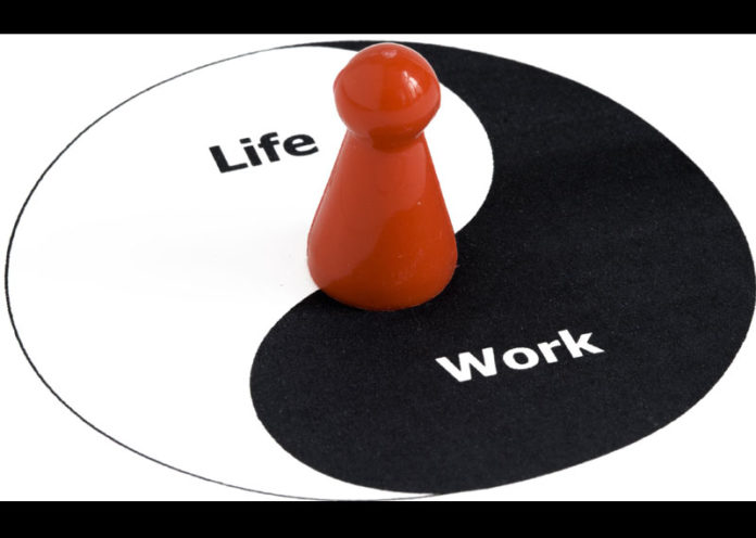 Work is different from personal life