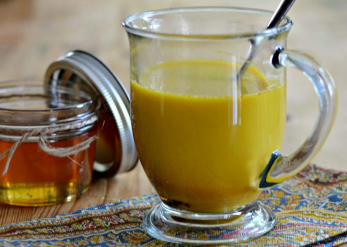 Turmeric, Honey and Milk