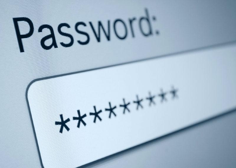 Social media passwords