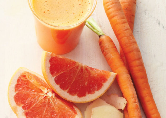 Carrot and Grapefruit