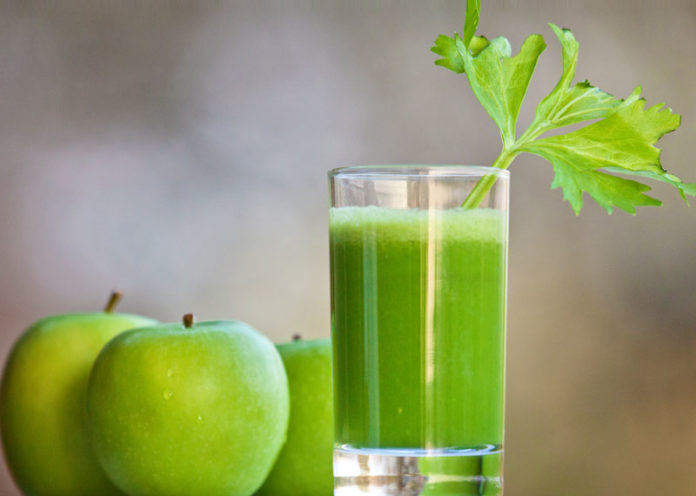 Cucumber and Apple