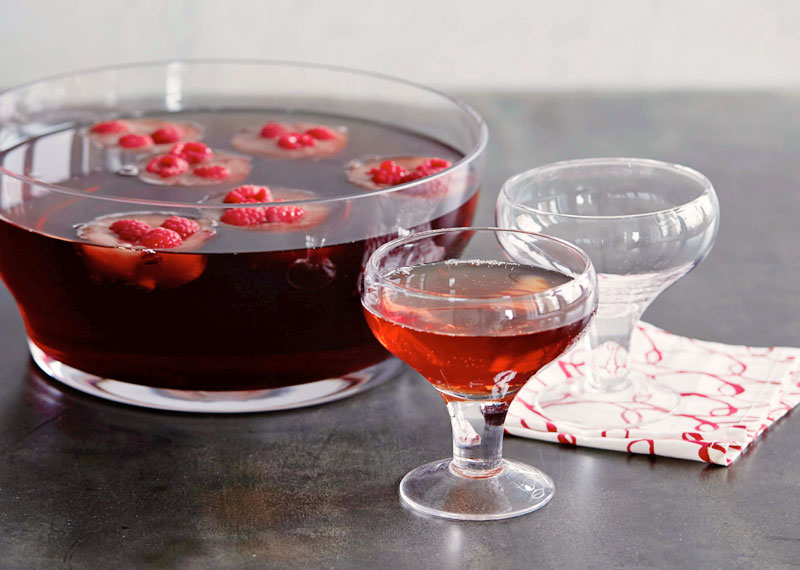 Sparkling Mixed Berry Punch