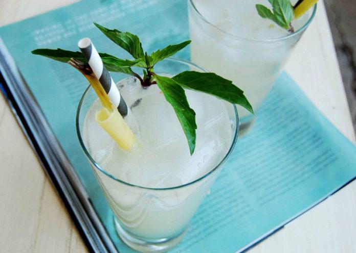 Basil Lemon Mojito