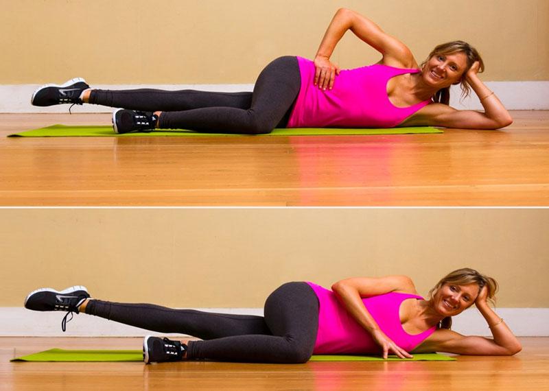 Pilates Leg Lifts