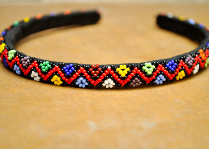 Embroidered hairbands