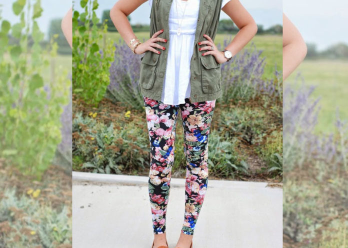 Style your jeggings with layers
