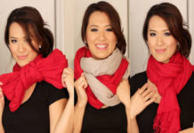 Different Trends To Tie a Scarf