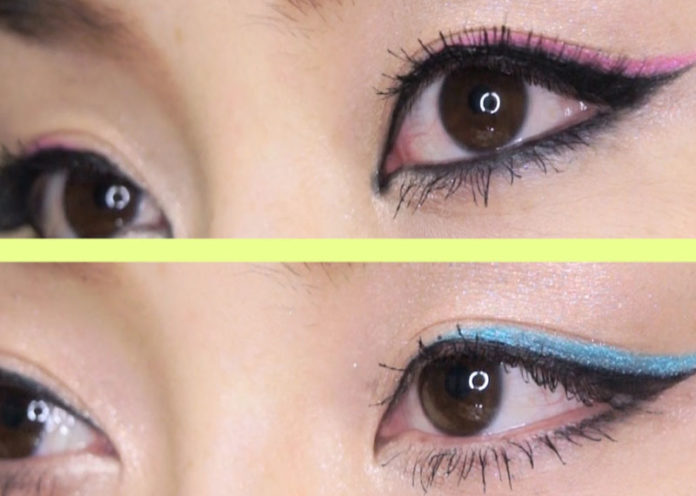 Colored eyeliner