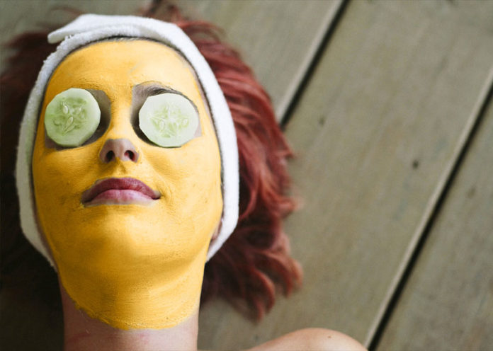 Turmeric, Milk and Honey Mask