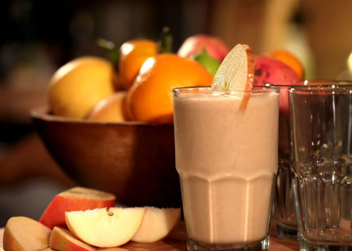 Apple Banana Smoothie