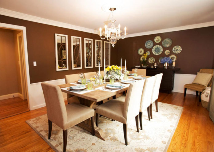 Display Collections On Your Dining Room Table